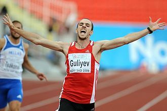 Sport in Turkey - Fenerbahçe's Ramil Guliyev won gold in the men's 200 metre race for Turkey in the 2017 World Championships in Athletics.