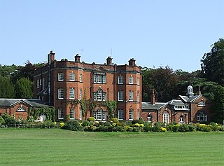 Ramsdell Hall country house in Odd Rode, Cheshire, England