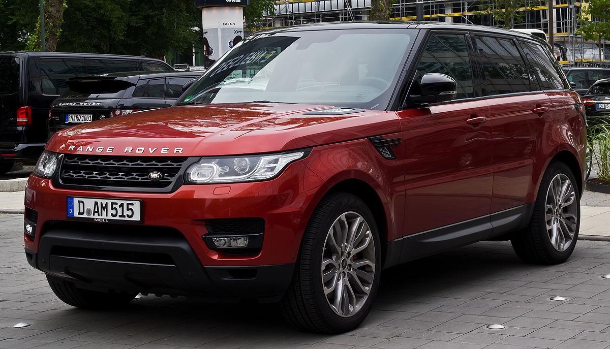Range Rover Sport Wikipedia >> Range Rover Sport - Wikipedia
