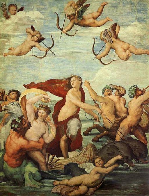 """""""Triumph of Galatea"""" by Raphael"""