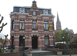 Oudenburg town hall