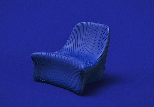 Ray Lounge Chair designed by Emmanuel Touraine exclusively for Ventury