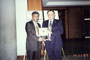 Receiving USEPA Award 1997.jpg