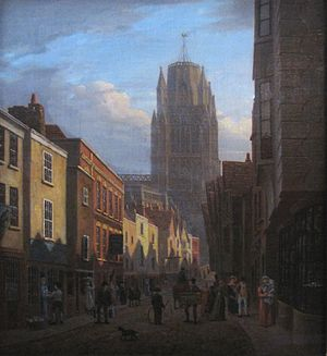 Redcliffe, Bristol - Image: Redcliffe street 1825