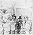 Refusing to give the lady a seat --Treaty of Versailles.jpg