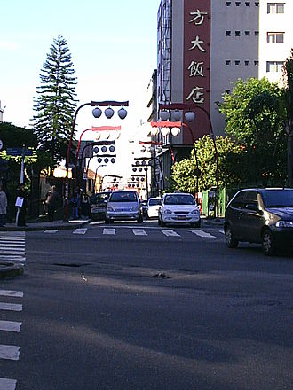 Liberdade (district of São Paulo) - Street in Liberdade
