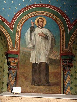 John Francis Regis - The altar dedicated to Saint John Francis Regis in the Cathédrale Notre-Dame du Puy