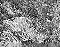 Rekonstrukcja sklepienia saskiego skrzydła Zamku Królewskiego w Warszawie 1972.jpg