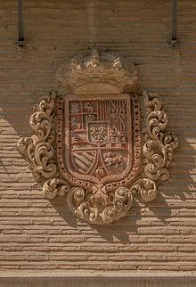 Relief CoA kings of Spain church Nuestra Senora de las Angustias, Granada, Spain.jpg