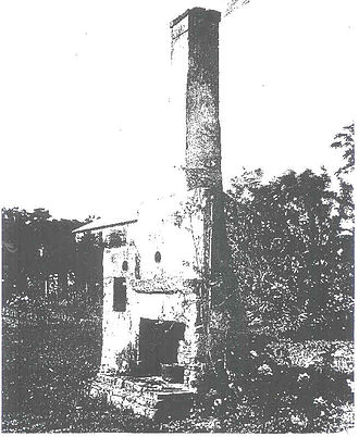 George J. F. Clarke - Remains of Honaria Clarke's house on St. Francis and Charlotte Streets in St. Augustine