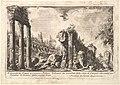 Remains of the Temple of Castor and Pollux . . . (Avanzo del Tempio di Castore e Polluce . . .) MET DP827973.jpg
