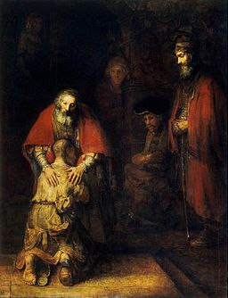 Rembrandt - The Return of the Prodigal Son - WGA19133