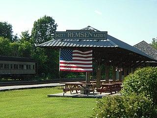 New York Central Railroad Adirondack Division Historic District