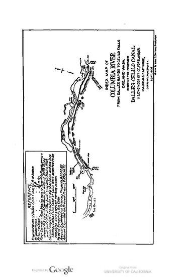 Report of the Oregon Conservation Commission to the Governor