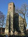 Restant Romaans Reuzenkasteel met kleine klokkentoren, Sint-Lenardstraat, Dudzele (Brugge).JPG