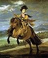 Retrato ecuestre del príncipe Baltasar Carlos, by Diego Velázquez.jpg