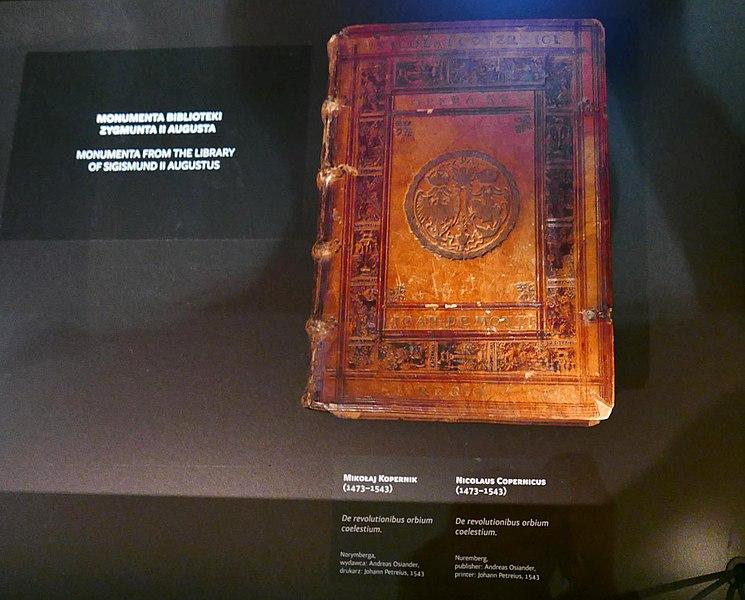 File:Revolution of the Spheres by Copernicus (1543), Czartoryski Museum, Krakow.jpg