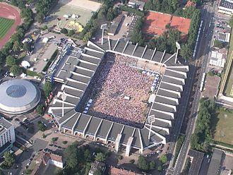 2010 FIFA U-20 Women's World Cup - Image: Rewirpowerstadion Ruhrstadion Bochum sp 1010714
