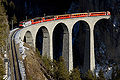 RhB Ge 4-4 III UNESCO Weltkulturerbe auf Landwasserviadukt showing the tunnel.jpg