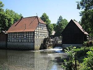 Wassermühle beim Schloss Rheda