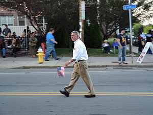 Rich Funke - In the 2014 Labor Day parade in Rochester, New York
