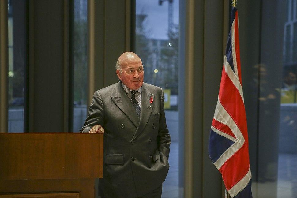 Richard Dannatt, US Embassy London, October 2018