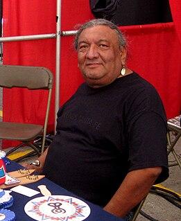 Richard Aitson Kiowa-Kiowa Apache bead artist and poet from Oklahoma