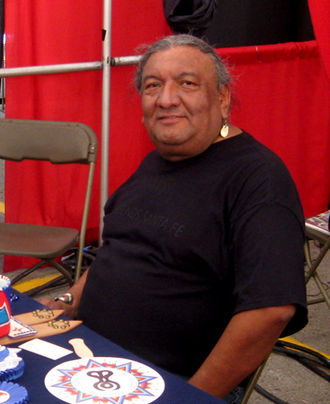 Plains Apache - Richard Aitson, poet and award-winning beadworker, is both Kiowa and Kiowa Apache
