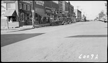 Riley and Wolfe Grocery, Morgan's Shoe Store and other businesses - NARA - 280607.jpg