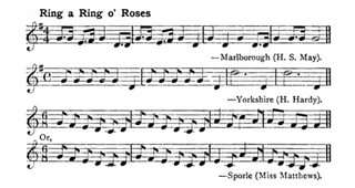 Ring a Ring o Roses Folk song