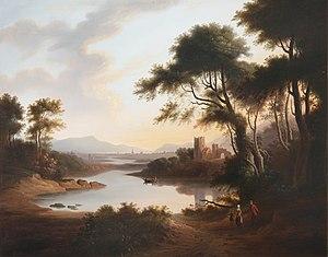 Anne Nasmyth - River Landscape by Nasmyth