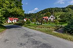 Road III-4875 and a house in Kychová (Huslenky), Vsetín District, Zlín Region, Czech Republic 33.jpg