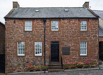 Dumfries - Robert Burns House in Dumfries