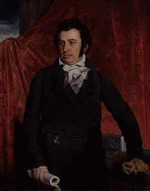 Robert Morrison (missionary) - Portrait of Morrison by John Wildman