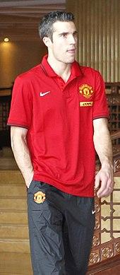 van Persie al Manchester United nel 2013.