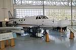 Rockwell Sabreliner 50, 1958, used for testing avionics and radar systems - Evergreen Aviation & Space Museum - McMinnville, Oregon - DSC00710.jpg