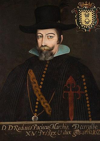 Rodrigo Pacheco, 3rd Marquess of Cerralvo - Rodrigo Pacheco y Osorio de Toledo