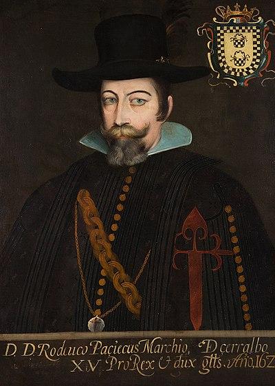 Retrato de Pacheco y Osorio, Rodrigo.
