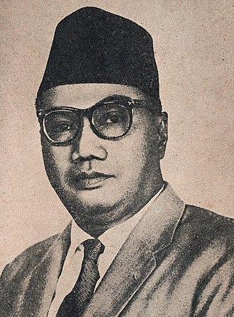 Ruslan Abdulgani - Abdulgani in 1965
