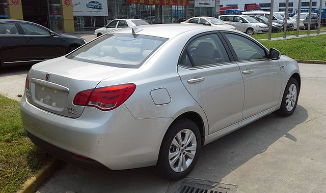 Image of Roewe 550 facelift 02 China 2014-05-01