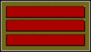 Comparative military ranks of Korea - Image: Rokm 3
