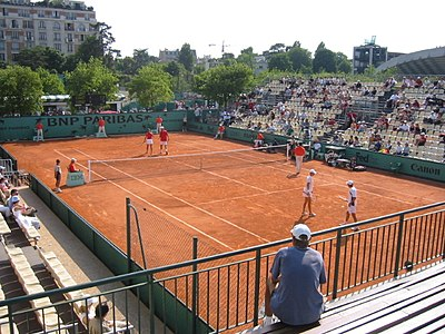 Court number 2 at the French Open.