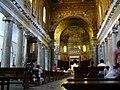 Roma - Santa Maria di Trastevere - in Piazza di Santa Maria in Trastevere - interior - panoramio.jpg