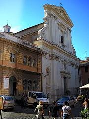Rome, Trastevere Chiesa si S Maria alla Scala