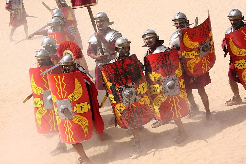 File:Roman Army & Chariot Experience, Hippodrome, Jerash, Jordan (5072088459).jpg