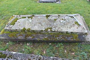 Ronald William Graham - Grave in Peper Harow, Surrey