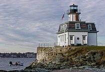 Rose Island Lighthouse viewed from Rose Island 2006.jpg