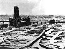 Rotterdam, Laurenskerk, na bombardeo van mei 1940.jpg