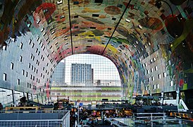 markthal rotterdam wikip dia. Black Bedroom Furniture Sets. Home Design Ideas