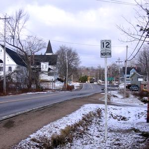 Nova Scotia Trunk 12 - Image: Route 12 NS